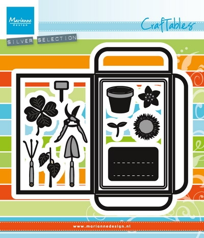 Marianne Design- Craftables- Seed Pocket & Garden Tools: CR1395
