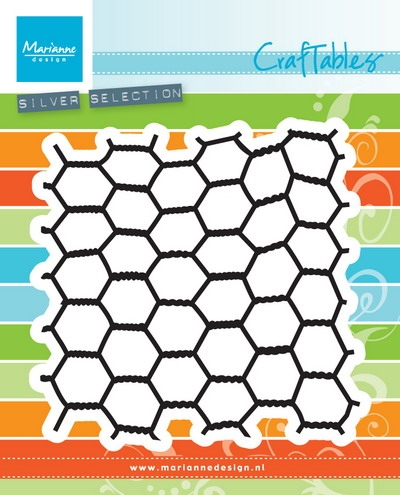 Marianne Design- Craftables- Chickenwire: CR1401