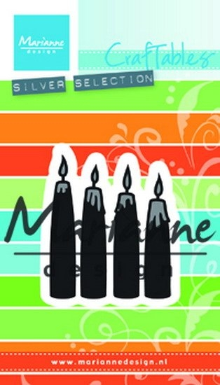 Marianne Design- Craftables- Advent Candles: CR1425