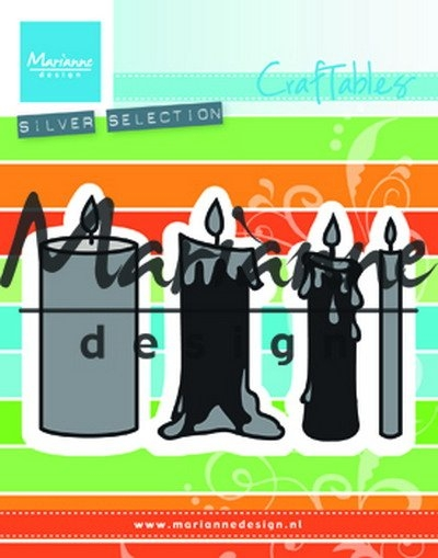 Marianne Design- Craftables- Candles set: CR1426