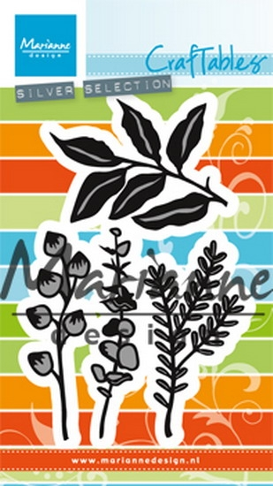 Marianne Design- Craftables- Herbs & Leaves: CR1432