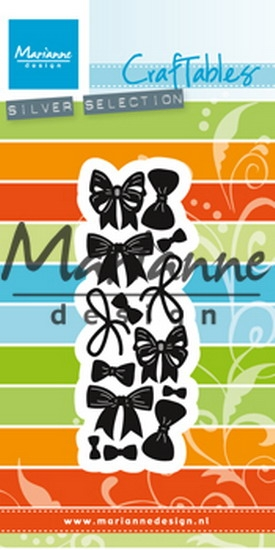 Marianne Design- Craftables- Punch die Bows CR1434