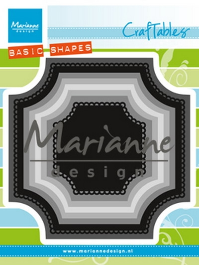 Marianne Design- Craftables- Basic Square: CR1438