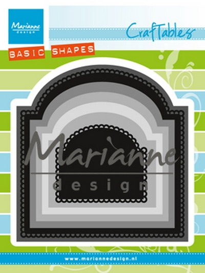 Marianne Design- Craftables- Basic Arch: CR1439