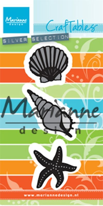 Marianne Design- Craftables- Sea Shells: CR1440