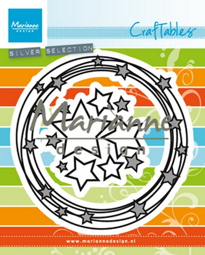 Marianne Design- Craftables- Circle & Stars: CR1447