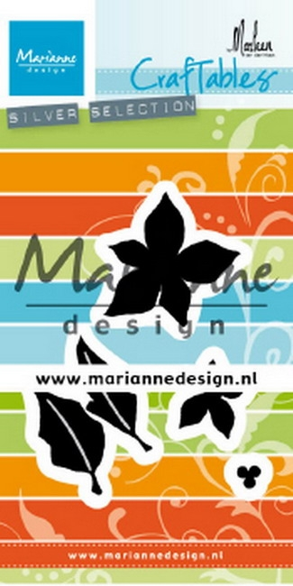 Marianne Design- Craftables- Poinsetta by Marleen: CR1478
