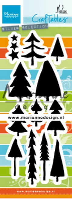 Marianne Design- Craftables- Trees by Marleen: CR1483