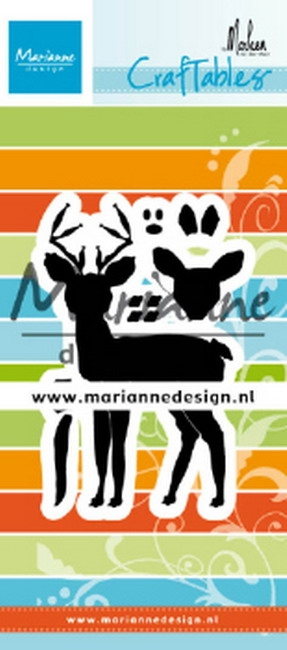 Marianne Design- Craftables- Deer by Marleen: CR1485