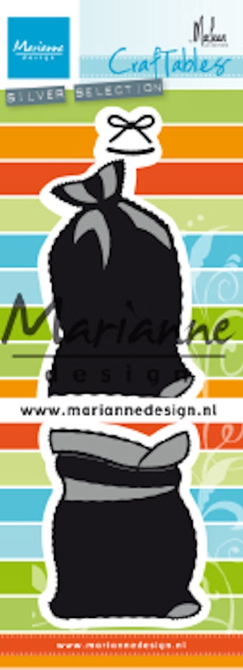 Marianne Design- Craftables- Presents bags by Marleen: CR1487
