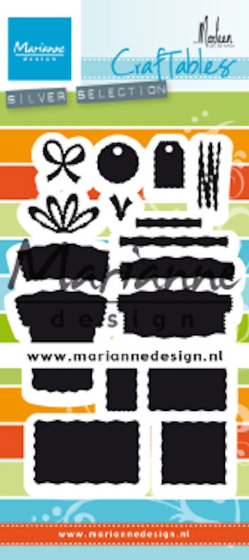Marianne Design- Craftables- Presents by Marleen: CR1488