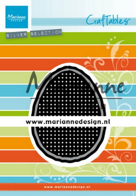 Marianne Design- Craftables- Cross stitch Easter egg: CR1497