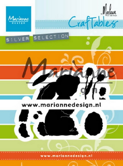 Marianne Design- Craftables- Bunny by Marleen: CR1498