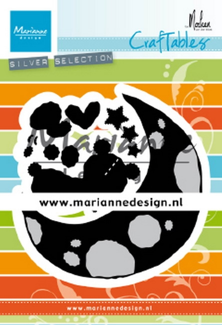 Marianne Design- Craftables- Dreaming bear by Marleen: CR1503