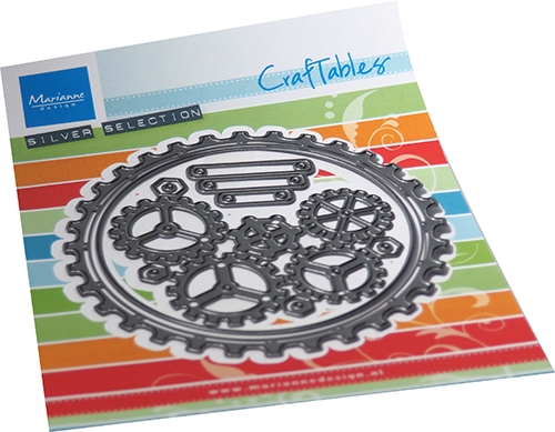 Marianne Design- Craftables- Gears Doily: CR1549