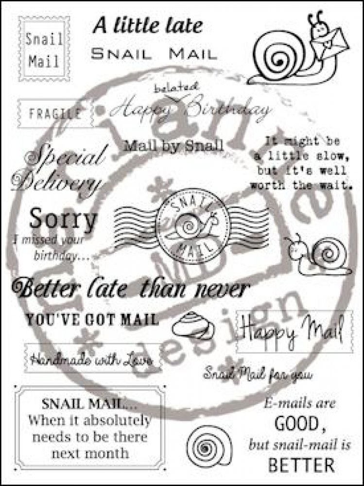 Marianne Design- Stamp Snail Mail: CS0899