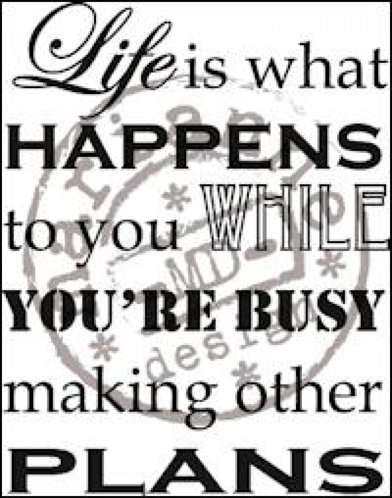 Marianne Design- Stamp Life Is What Happens: CS0901