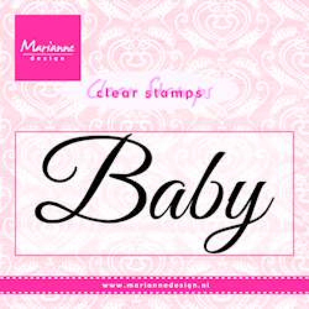Marianne Design- Clear stamp- Baby: CS0958
