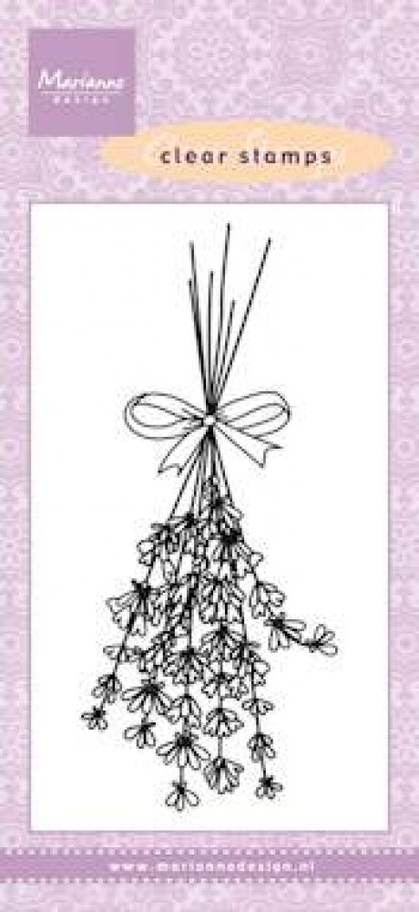 Marianne Design- Clear Stamp- Lavender: CS0967