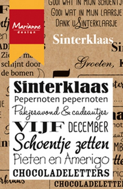 Marianne Design- Clearstamp- Sinterklaas: CS0981