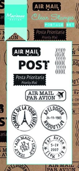 Marianne Design- Clear stempel- Postage set: CS0995