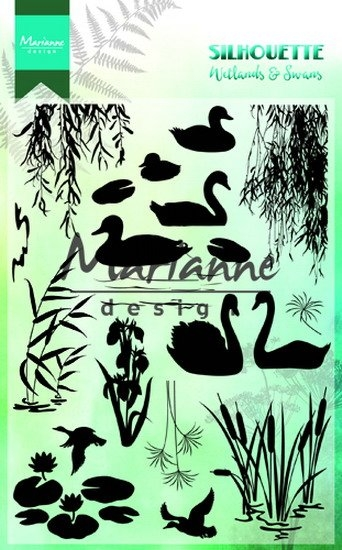 Marianne Design- Clearstempel- Silhoutte wetlands: CS1017