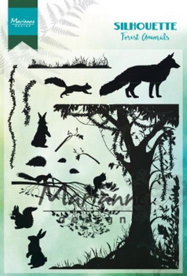 Marianne Design- Clearstempel- Forest animals: CS1021