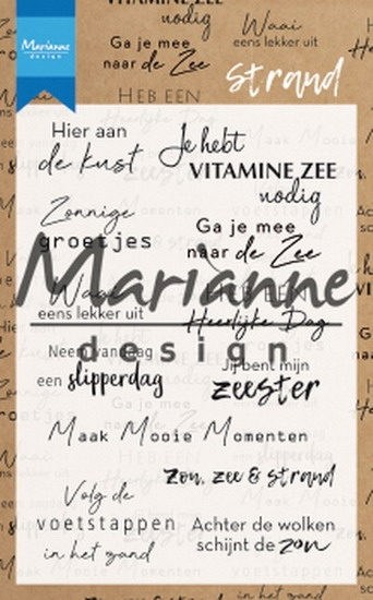 Marianne Design- Clearstempel- Strand : CS1024