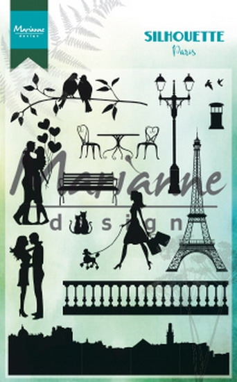 Marianne Design- Clear Stempel- Silhoutte Paris: CS1027