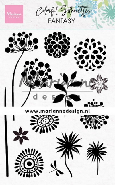 Marianne Design- Clearstempel Colorful Silhoutte- Fantasy: CS1047