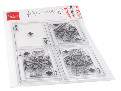 Marianne Design- Clear Stamp- Playing Cards: CS1055