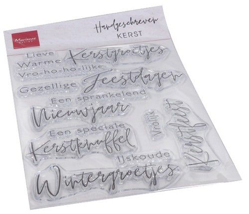 Marianne Design- Clear stempel- Kerst: CS1067