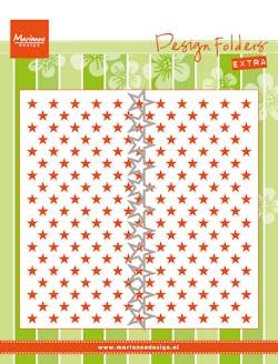 Marianne Design- Design Folder- Extra Little Stars: DF3427
