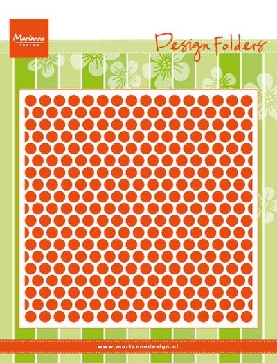 Marianne Design- Embossing folder- Dots: DF3431