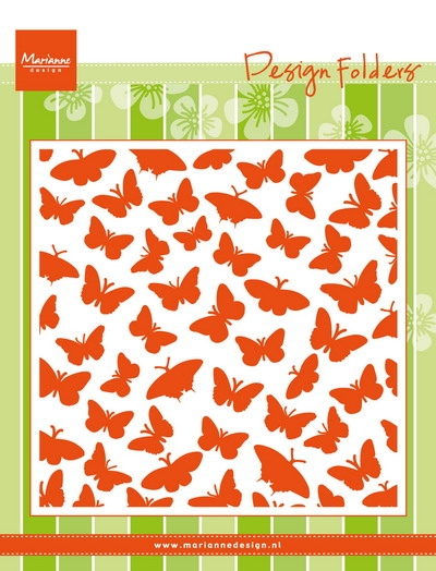 Marianne Design- Design Folder- Butterflies: DF3433