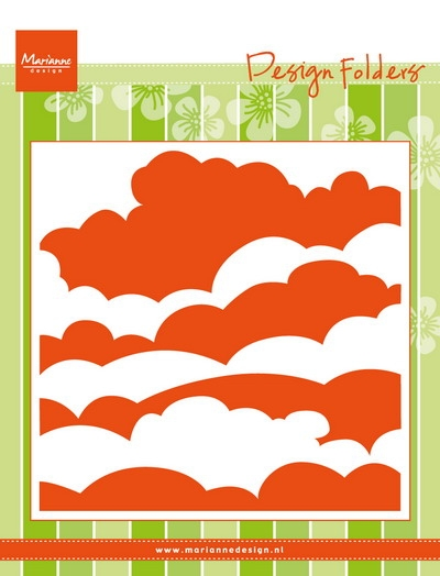 Marianne Design- Design Folder- Clouds: DF3434