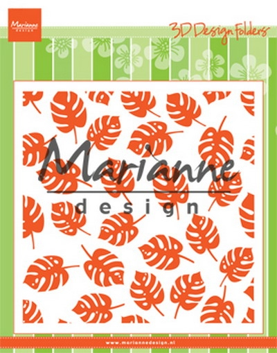 Marianne Design- 3D Design Folder- Tropical leaves: DF3449