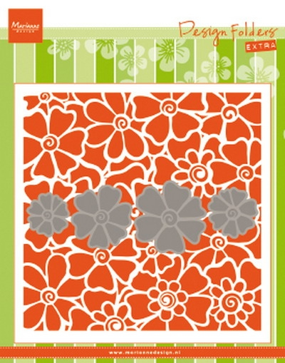 Marianne Design- Design Folder- Poppies: DF3452