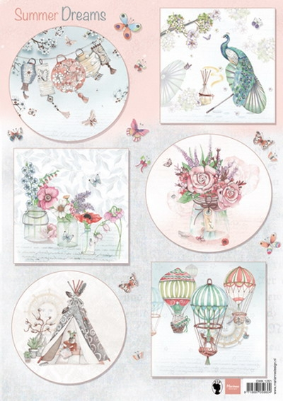 Marianne Design- Knipvel- Els Summer dreams: EWK1261