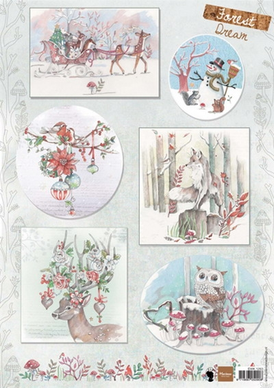 Marianne Design- Knipvel- Els Forest Dream 2: EWK1263