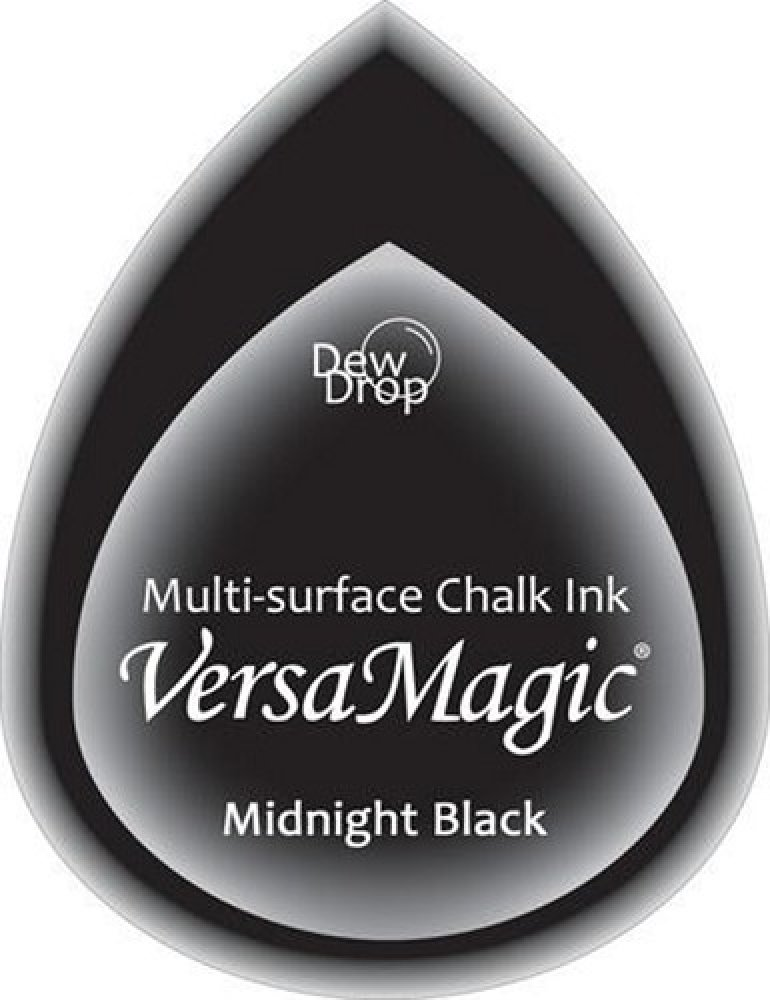Tsukineko- Versa Magic- Midnight Black: GD-000-091