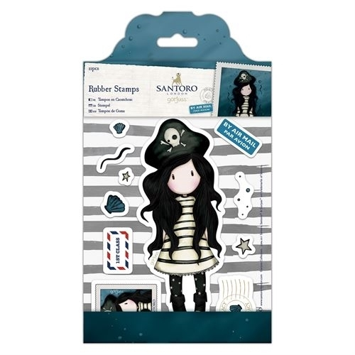 Santoro- Rubber Stamps- Piracy- Docrafts: GOR907130