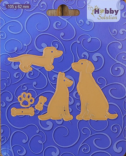 Nellie's Choice- Hobby Solutions Die- Cute Dogs: HSFD003