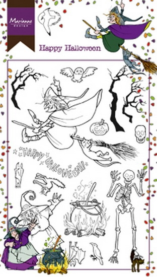 Marianne Design- Clearstempel- Hetty's Happy Halloween: HT1626