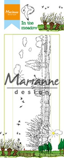 Marianne Design- Clearstempel- Hetty's in the meadow: HT1633