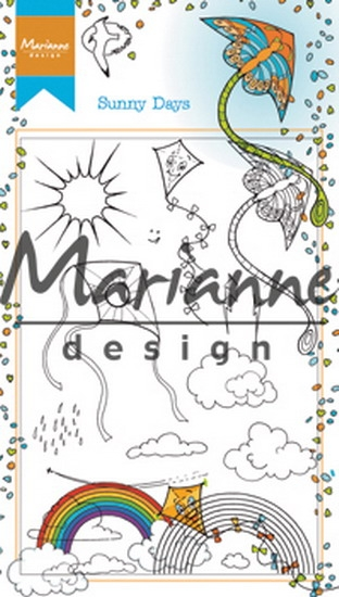 Marianne Design- Clearstempel- Hetty's Sunny days: HT1635