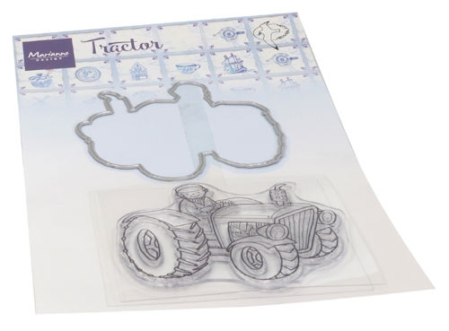 Marianne Design- Clear Stempel- Hetty's tractor : HT1654