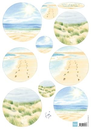 Marianne Design- 3dknipvel- Tiny's Sand & Sea 1: IT0585