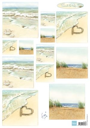 Marianne Design- 3dknipvel- Tiny's Sand & Sea 2: IT0586