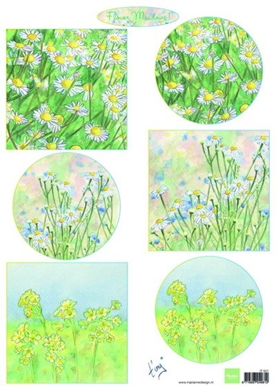 Marianne Design- 3d Knipvel- Tiny's Flower Meadow 1: IT0601